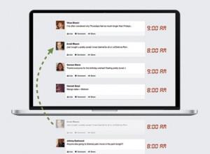 פייסבוק מקפיצה פוסטים
